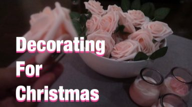 Decorating for Christmas | online shopping can be tricky | HAPPY VLOGMAS DAY 10